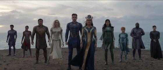 Cast The Eternals 2021 633d0