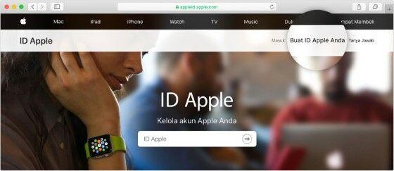 Buat Id Apple Di Web 63259