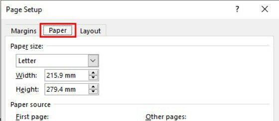 Cara Mengatur Kertas Di Ms Word A8a9e