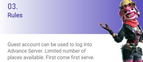 Advance Server Free Fire 2020 April 7c8f9