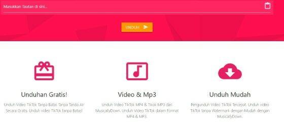 Download Video Tiktok Tanpa Tanda Air E2757