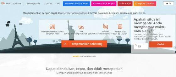 Software Penerjemah Dokumen Offline B1503