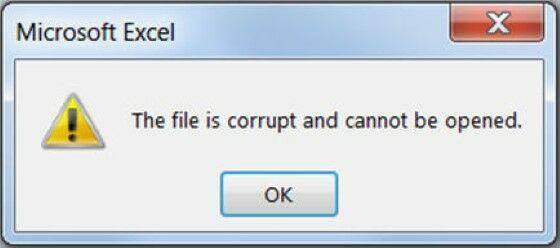 Memperbaiki File Excel Yang Corrupt Atau Rusak 64332