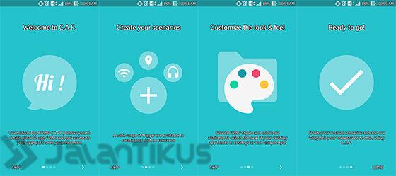 Pemandu Setup Aplikasi Contextual App Folder Android