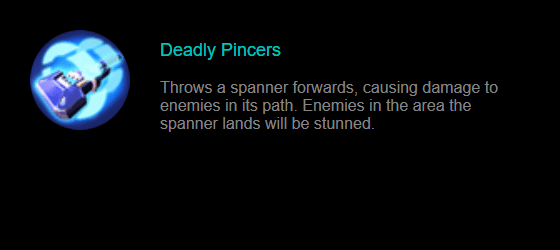 Skill 1 Johnson: Deadly Pincers