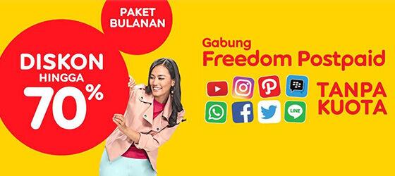 Paket Internet Indosat Freedom Postpaid 5d25e
