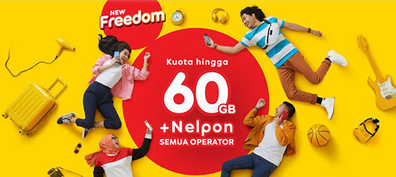 indosat new freedom