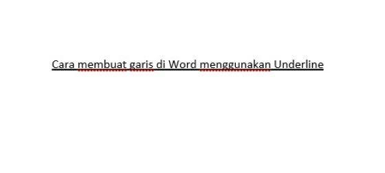 Cara Membuat Garis Di Word Hp 39699
