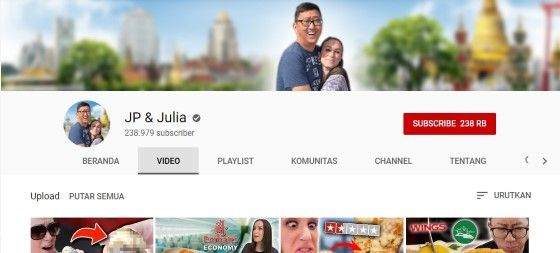 Youtuber Couple JP And Julia B8922