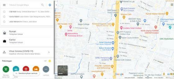 Cara Melihat Koordinat Di Google Map Pc Aafc2