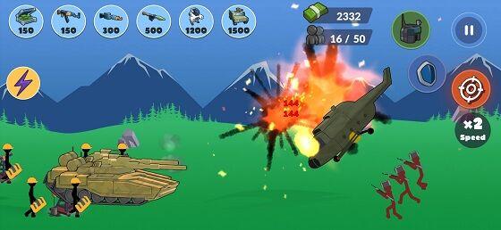 Stickman World Battle 2 2134d