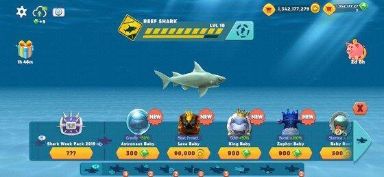 Mod Apk Hungry Shark 31803