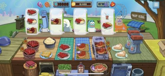 Spongebob Krusty Cook Off MOD APK 4fbdf