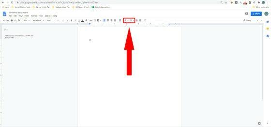 Menambahkan Bullets And Numbering Google Docs 716e5
