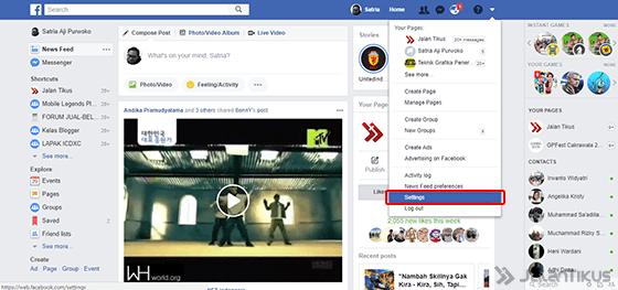 Cara Logout Facebook 1