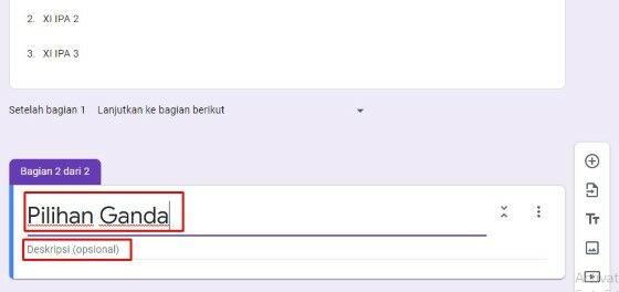 Cara Membuat Soal Essay Di Google Form 7f383