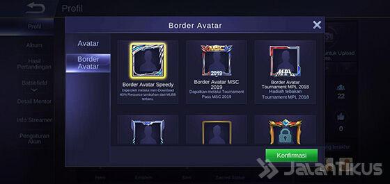 Border Avatar Mobile Legends 069e4