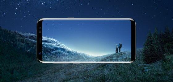 Samsung Galaxy S8 Desain Layar 4a81e
