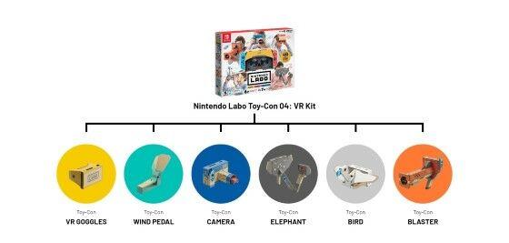 Nintendo Labo Vr 10 69b29