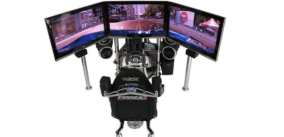 VRX Mach 4 Racing Simulator