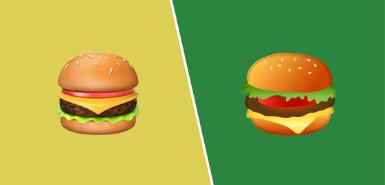 Burger Emoji Bb80a