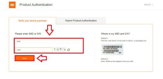 Cara Cek Hp Xiaomi 1 Be239