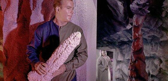Captain Kirk Behind The Scenes Penis Stalagtite 88239
