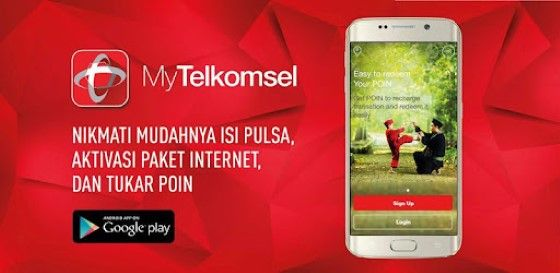 Cara Transfer Kuota Telkomsel Via Aplikasi MyTelkomsel 579d5