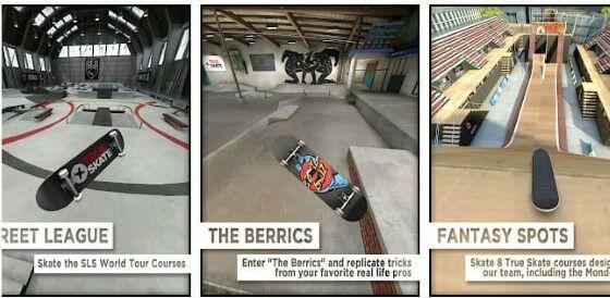 Download True Skate Mod Apk Full Skatepark 89d3e
