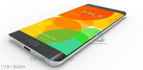 Xiaomi Mi Note 2 Layar Edge