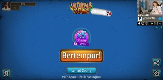 Game Cacing Pc 1 D286e