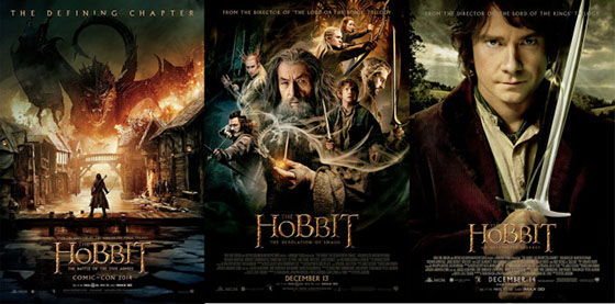 The Hobbit Posters Backwards 3fa2a