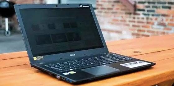 Laptop Acer Core I5 RAM 4GB Murah 9edc3