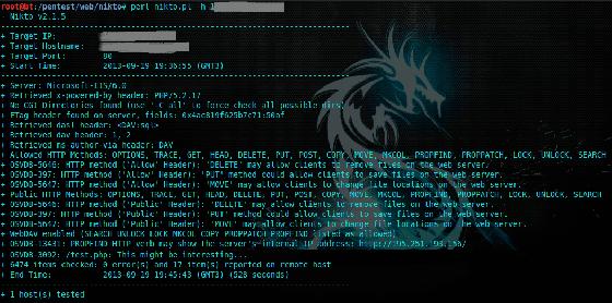 Nikto2 Software Hacker Terbaik 2