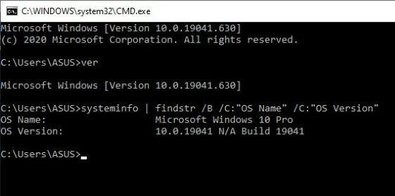 Cara Melihat Versi Windows 9a4c5