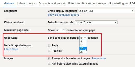 Fitur Rahasia Gmail Undo Send Custom 83467