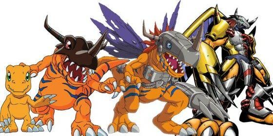 Agumon Digimon Digivolutions 7b175