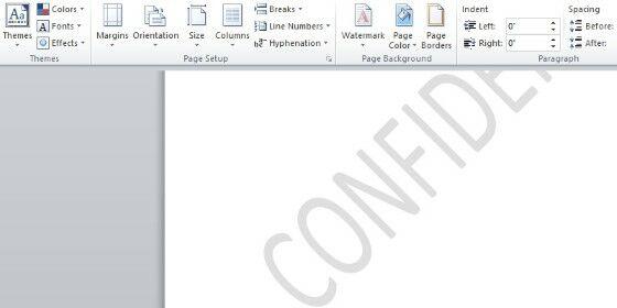 Cara Membuat Tulisan Watermark Banyak Di Word 09e77