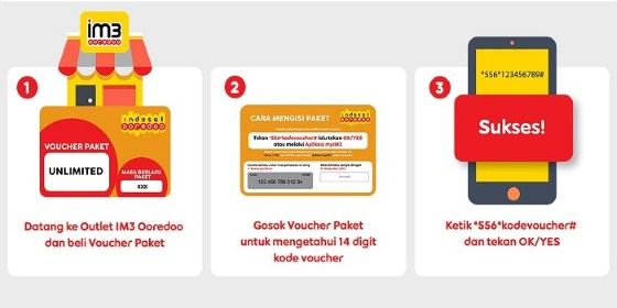 Cara Mengatasi Voucher Indosat Tidak Masuk 34298