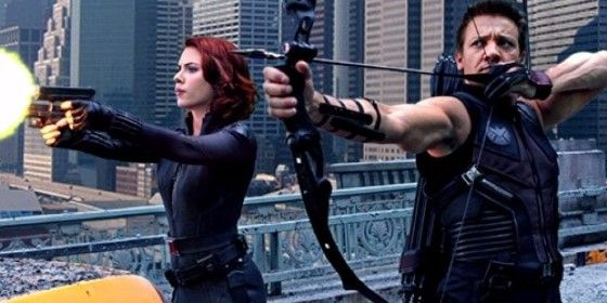 Black Widow Hawkeye Film The Avengers 8ba8e