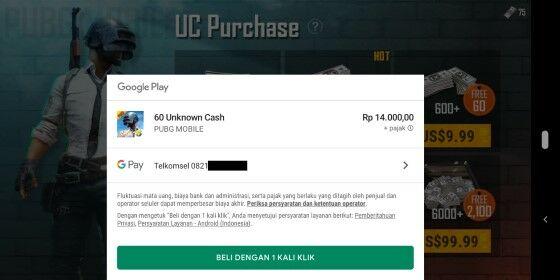 Uc Pulsa Custom 91633