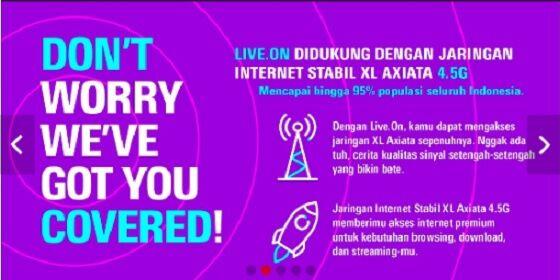 Paket Internet Live On Xl 15 2a2fc