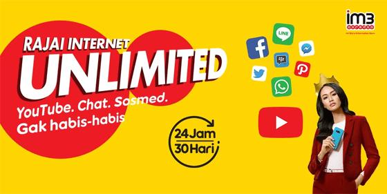 Paket Internet Unlimited Indosat Ooredoo