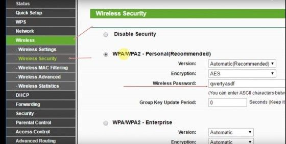 Cara Mengganti Password Wifi Tp Link 70107