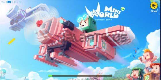 Download Mini World Mod Apk Unlock All 9867b