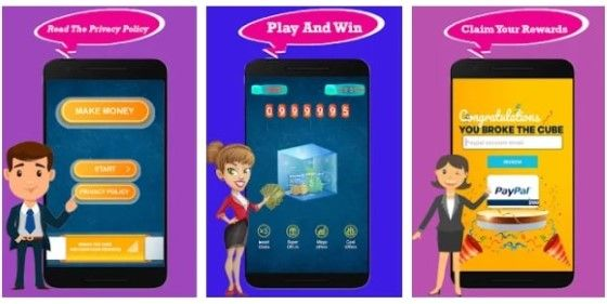 Aplikasi Yang Menghasilkan Uang Lucky Money Cube D163d