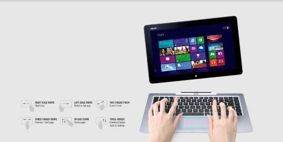 Asus Notebook Touchscreen T300LA Ultrabook 145c4