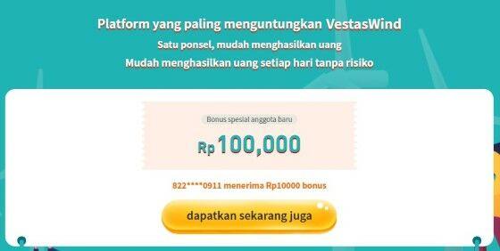 Vestas Wind Penghasil Uang 2021 E2d5b