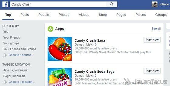 Searh Engine Facebook 5
