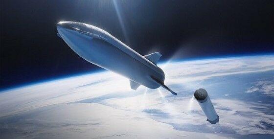Starship Bisa Membawa Manusia Ke Mars 3e941